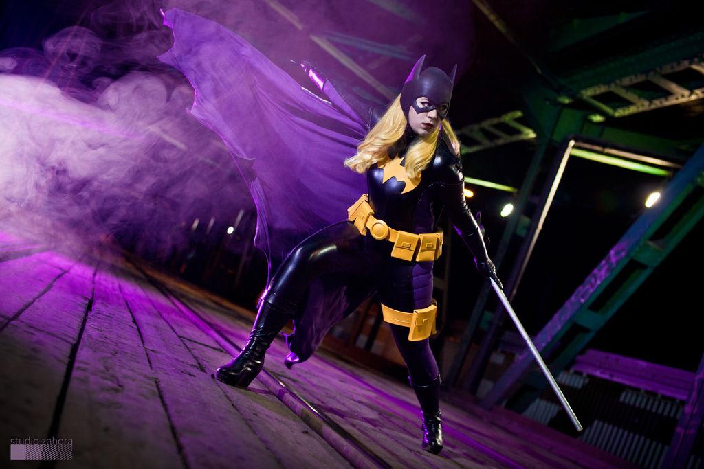 Batgirl in action!