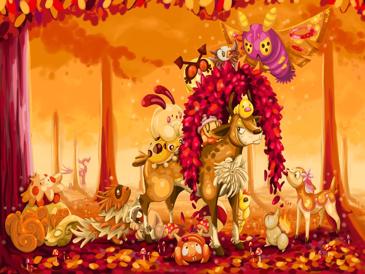 Autumn! by SpagettiUrchin
