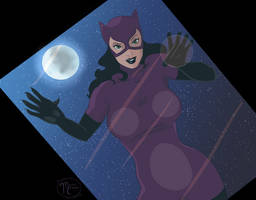 Fifty Fabulous Females: Catwoman by moon--crater