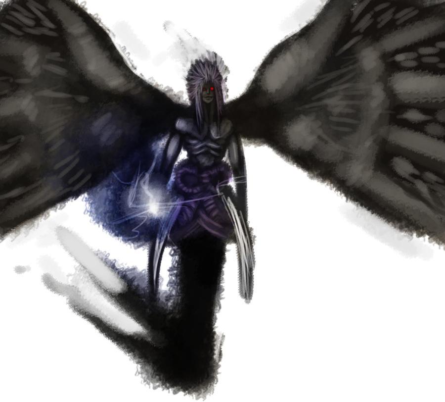 Sasuke demon form by iibacon kun on deviantart - Sasuke uchiwa demon ...