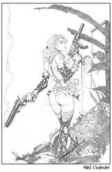 Aphrodite IX by neilchenier