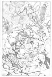 SpiderMan Hulk Teamup