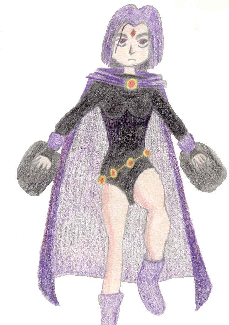 casual power raven by ravendarkraven
