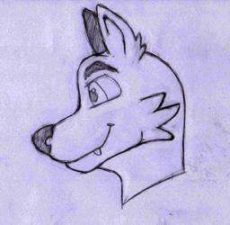 Inktober 06: Husky