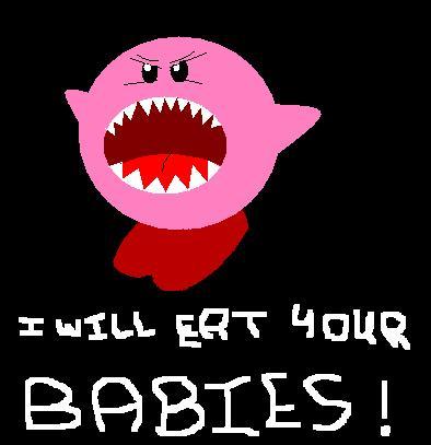 Stripgenerator.com - Evil Kirby & Normal Kirby
