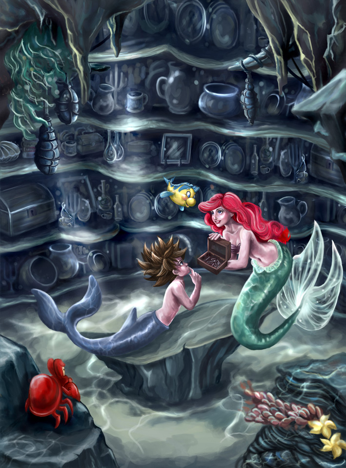 The Mermaid's Grotto by babalisme