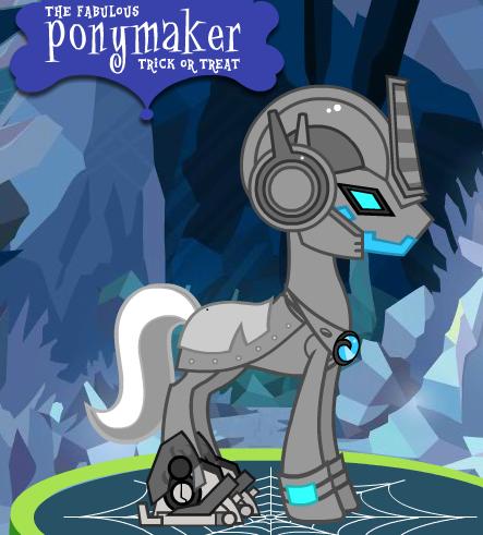 Armored Ultra - Matrix Pony by Brelia9794