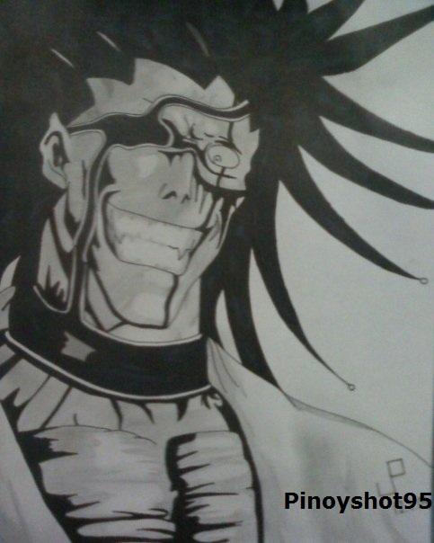 Kenpachi Zaraki Drawing By Pinoyshot95