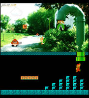 Super Mario - Parallel Worlds by phoeArt
