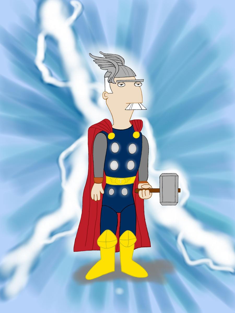 Major Monogram, God of Down-Under Thunder