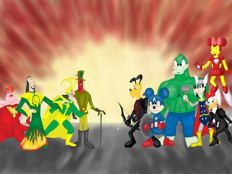 Disney/Marvel Mashup