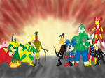 Disney/Marvel Mashup by Sprzout