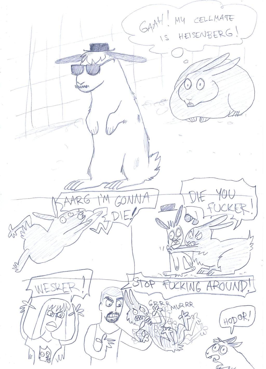 Bunny Heisenberg by Tundradrix