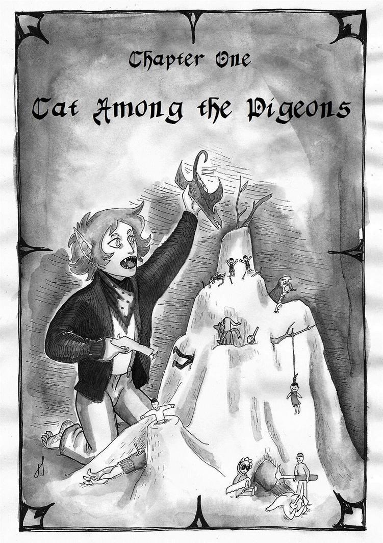 Lord Babuski Pg19 Cat Among the Pigeons by Tundradrix