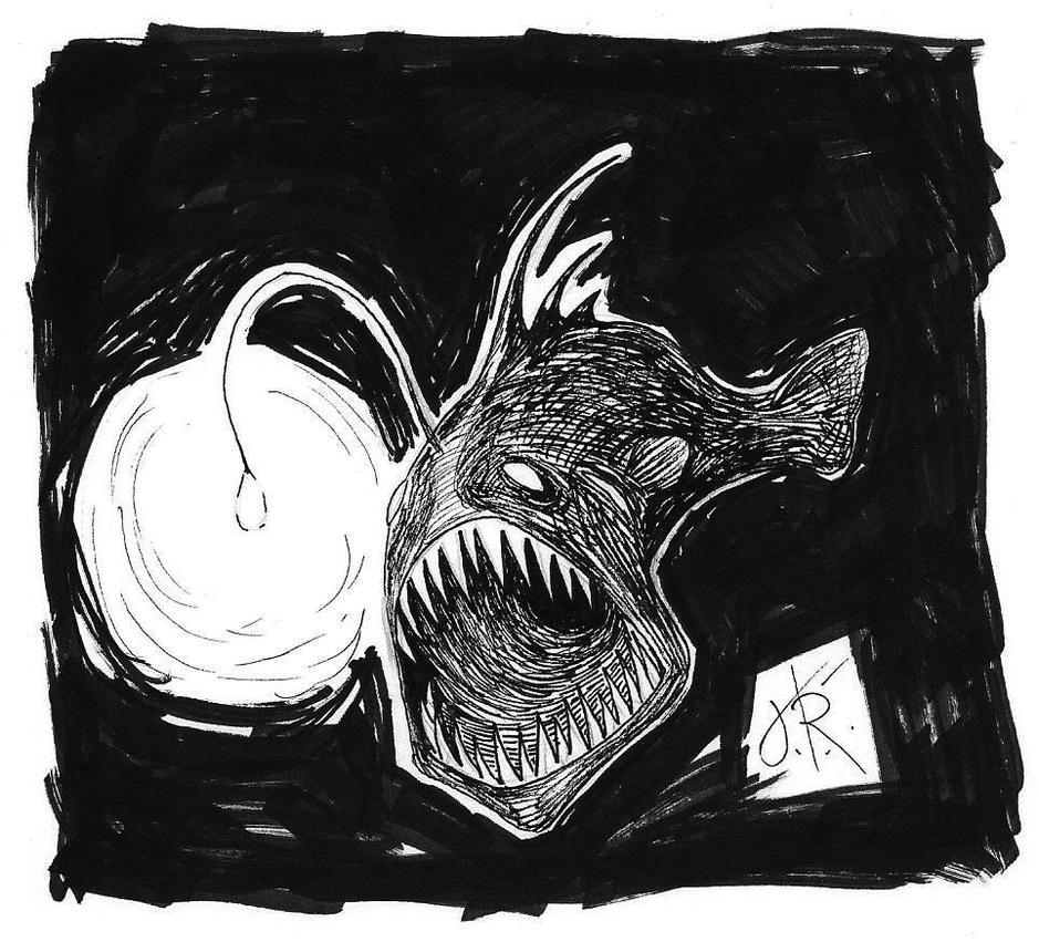 Inktober Underwater by Tundradrix