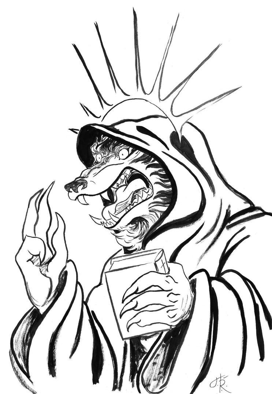 Inktober Mask by Tundradrix