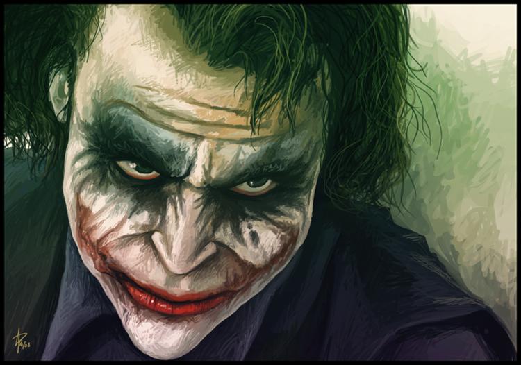 Joker Lachen