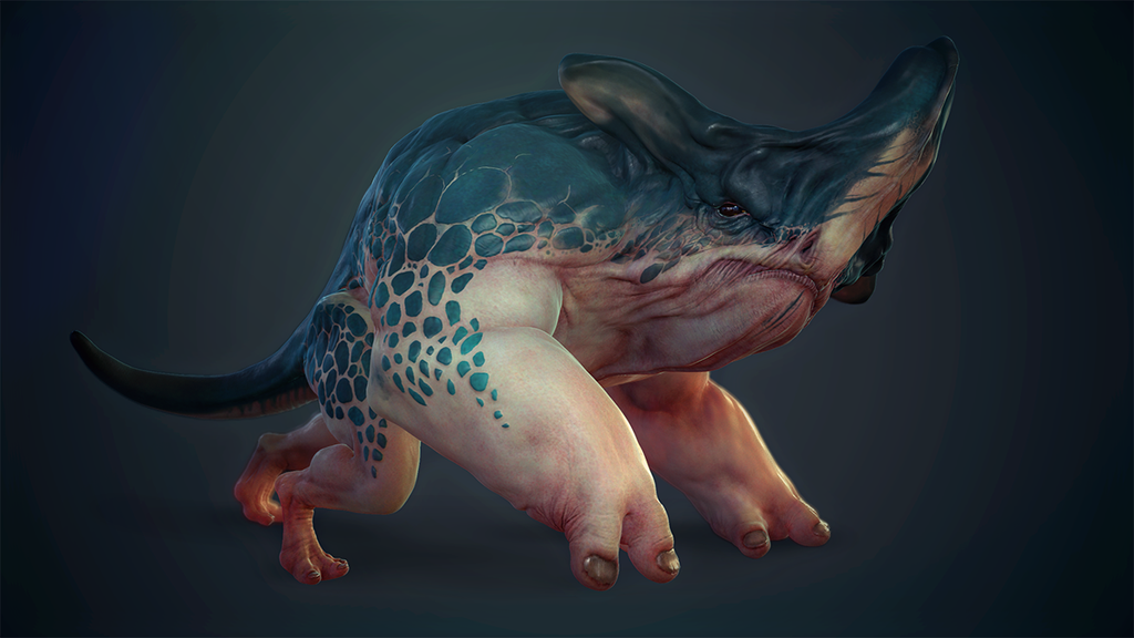 Hyracodonte by Pablander