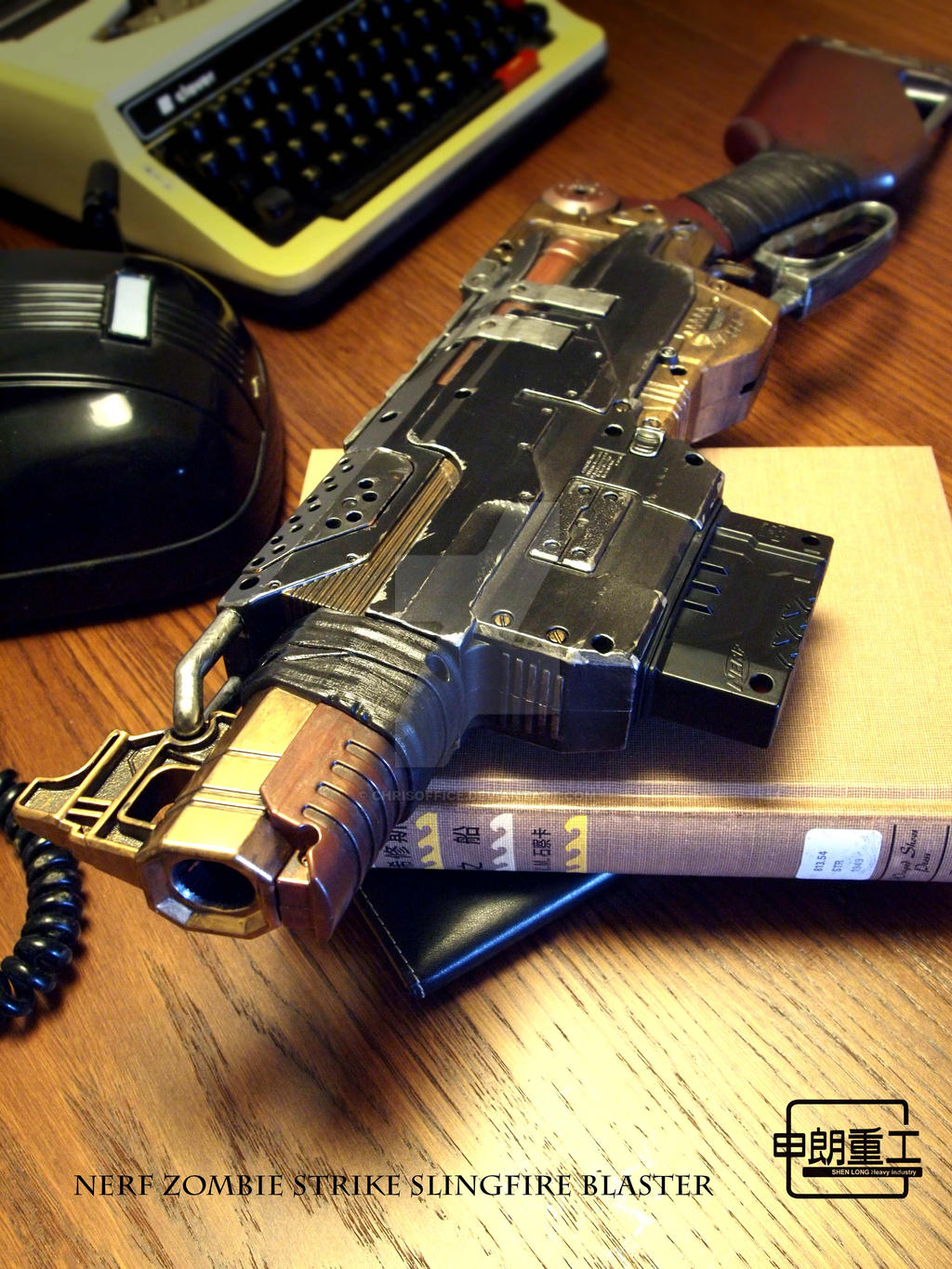 Nerf Zombie Strike SlingFire Blaster-1 by chrisoffice