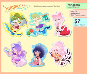 FIRE EMBLEM HEROES Summer Charms: Pre-Orders OPEN