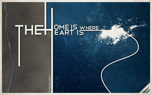Home is where the heart is by fudgegraphics