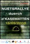Kasematterallye 08 Flyer by fudgegraphics