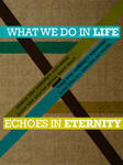 What We Do In Life: three by fudgegraphics
