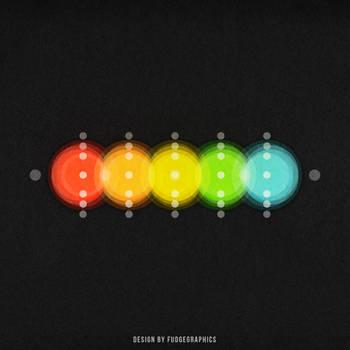 Heat: iPad Wallpaper by fudgegraphics