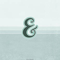 Ampersand iPad Wallpaper by fudgegraphics