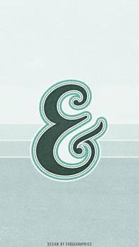 Ampersand iPhone Wallpaper