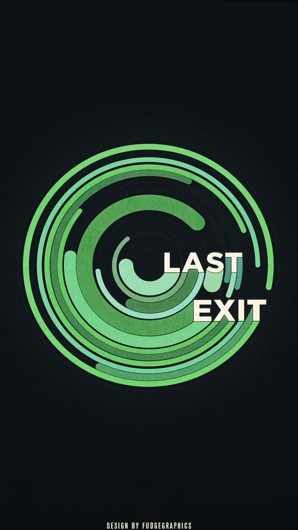 Last Exit iPhone Wallpaper by fudgegraphics
