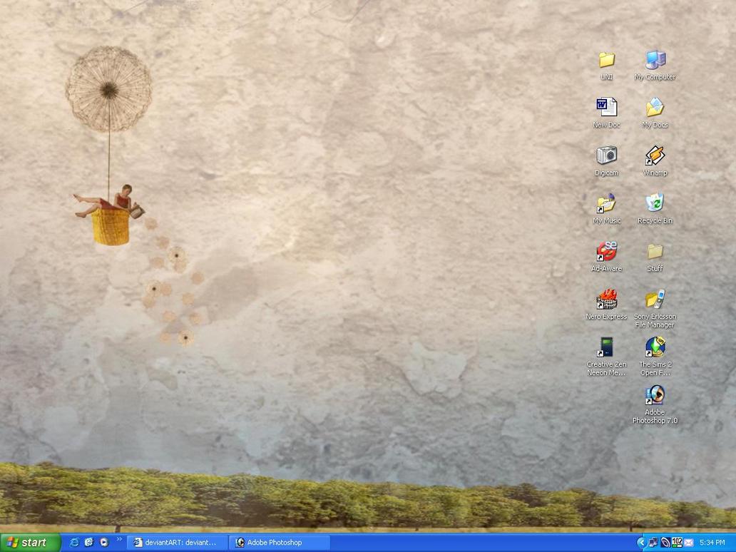 my pretty desktop by hayleybebe