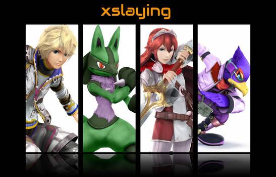 Xslaying character banner