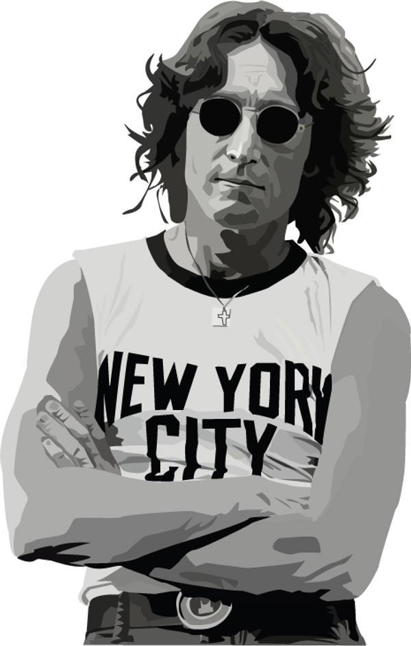 John Lennon by garrett-btm