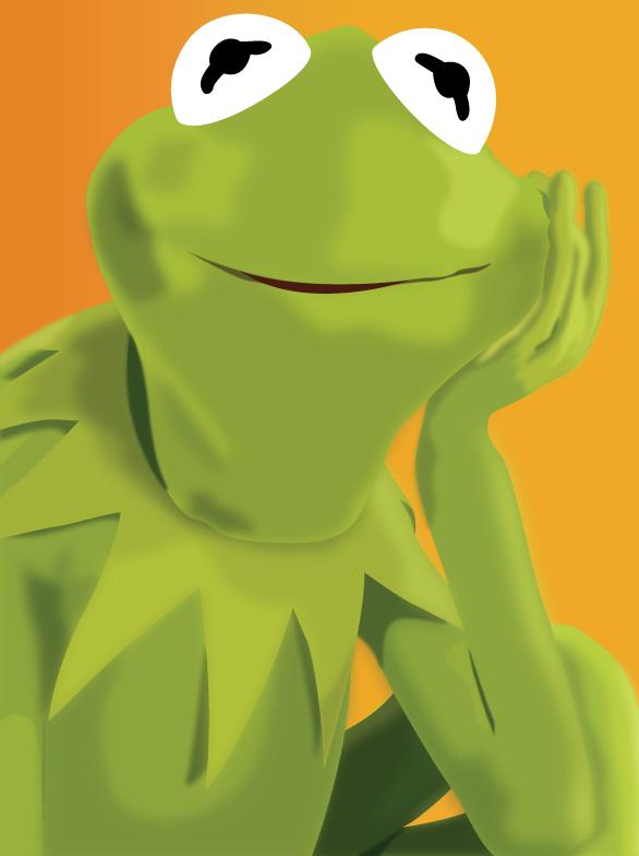 Kermit the Frog updated by garrett-btm