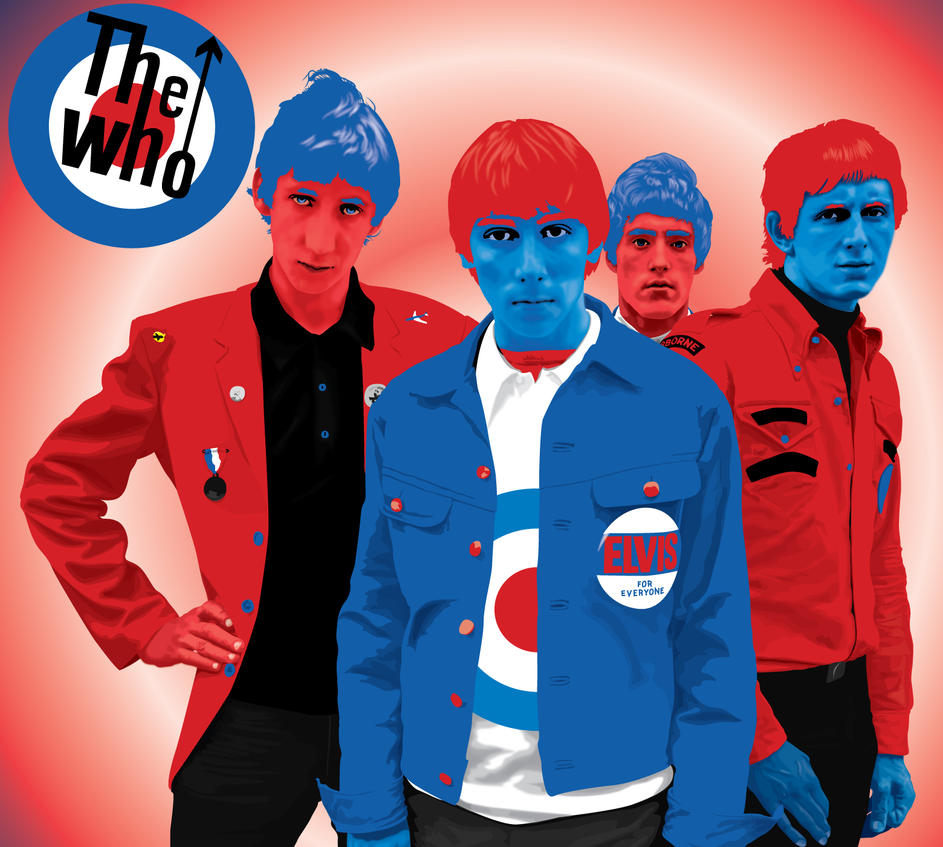 The Who vector by garrett-btm