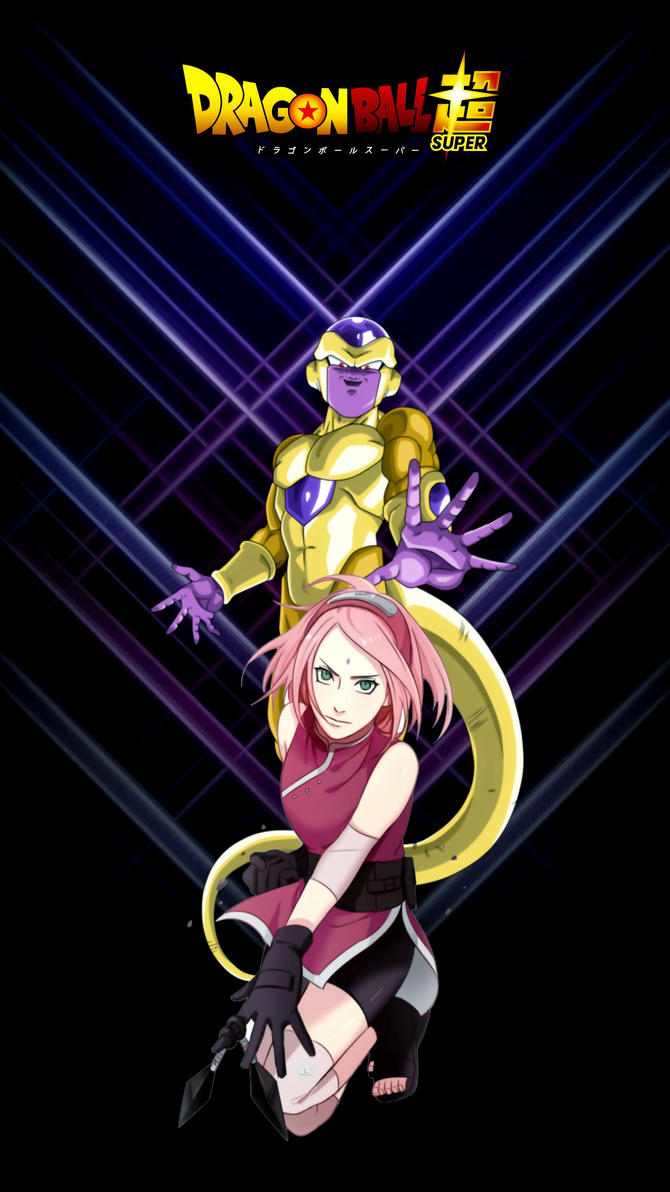 sakura and frieza by luckyal77