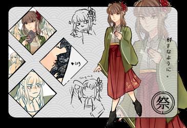 SYN: Kuzunoha Sanyu by Akari-Scifo