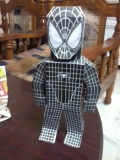 Black Spiderman by asirbachan
