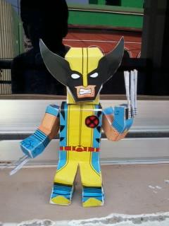 Wolverine paper hero by asirbachan