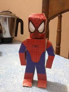 Spiderman paper hero by asirbachan