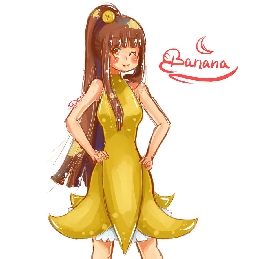 ⚔ SPIRIT BRINGERS:  EL GRAN ASALTO A BEAGALLTACH  ⚔  - Página 2 Banana_girl_by_hichiyan-d8d1ten