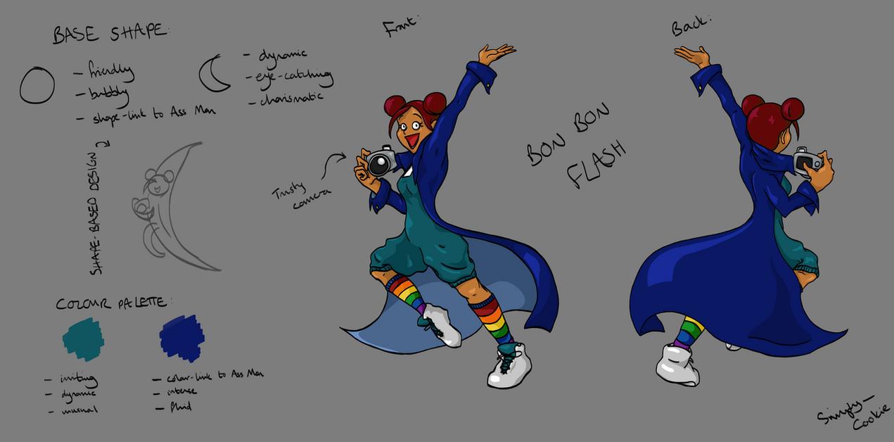 TAoRW: Character Sheet: Bon Bon Flash by SimplyCookie