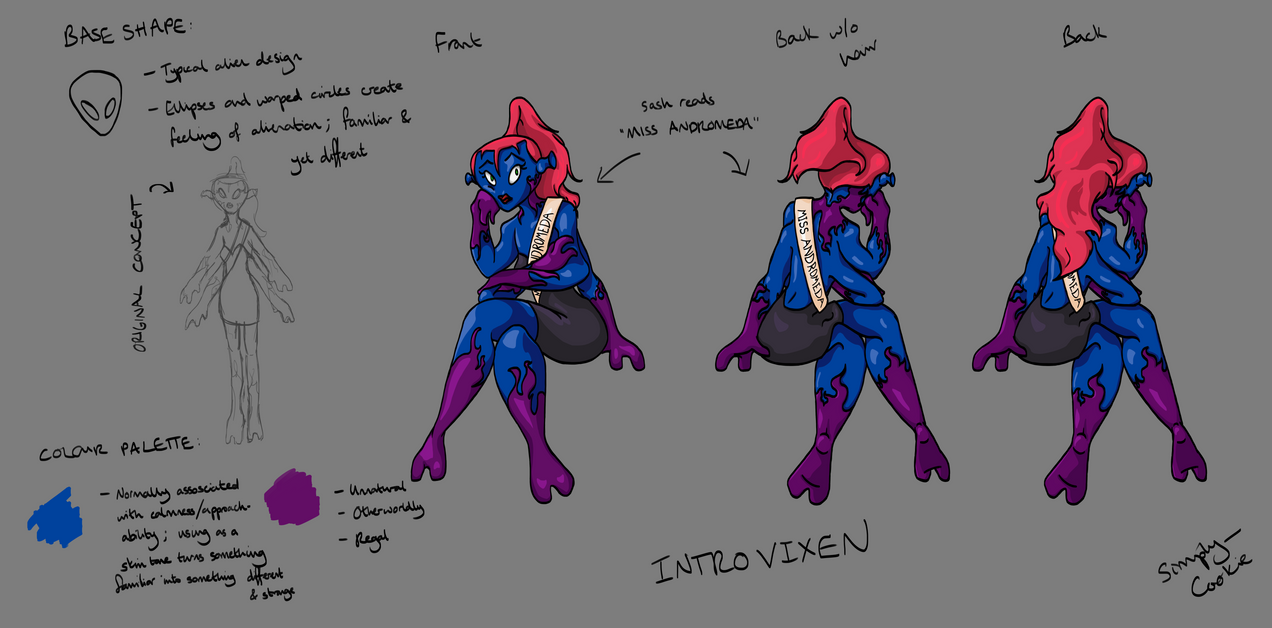 TAoRW: Character Sheet: Introvixen by SimplyCookie