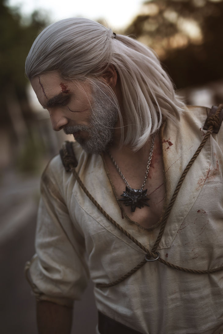 Geralt Of Rivia The Witcher 3 Wild Hunt By