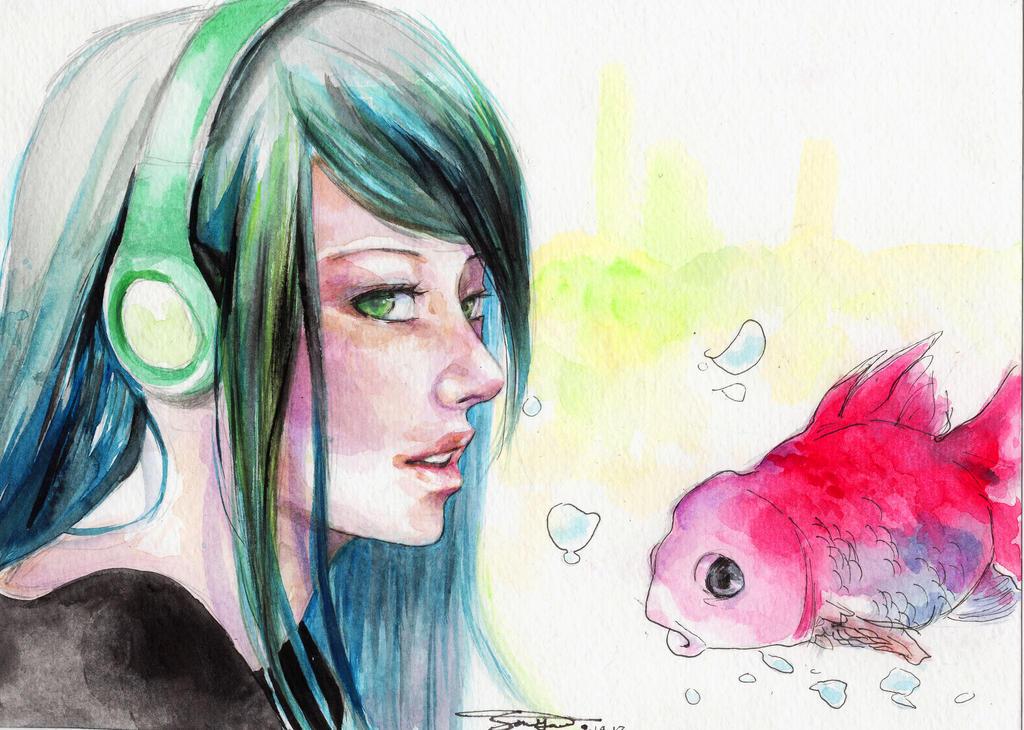 FISHIES. by Ako8