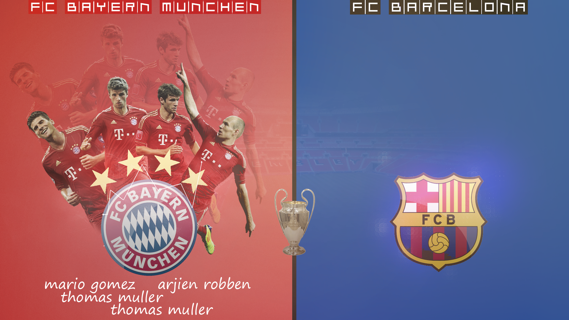 Bayern VS Barcelona by MakaayR