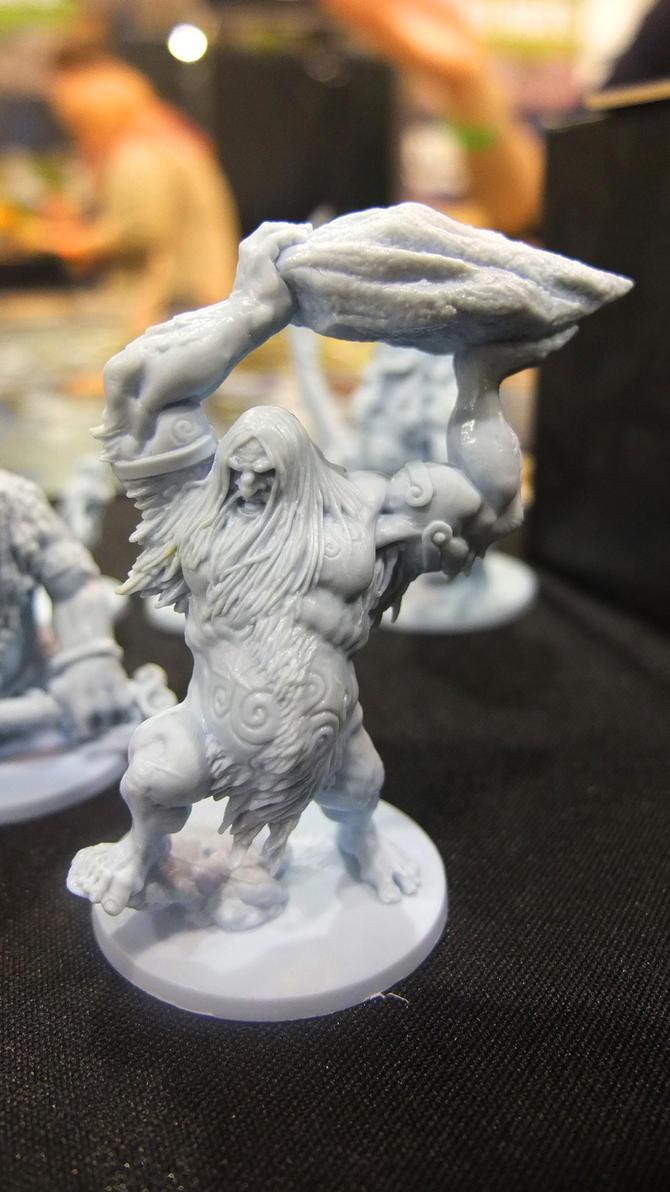 Blood Rage: Frost Giant by SlimeGolem