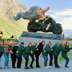Trollstigen monument NyForm Troll by SlimeGolem