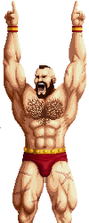 Zangief definitive version by ELrcar